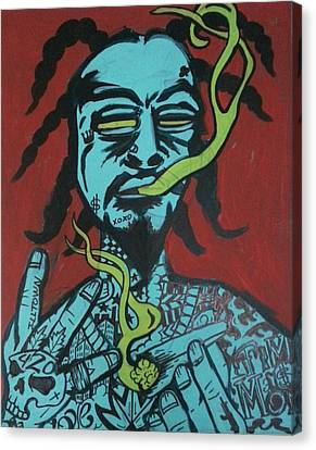West Coast Deemon Canvas Print by Deemon Picasso