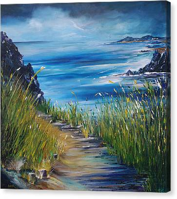 West Coast Of Ireland Canvas Print by Conor Murphy