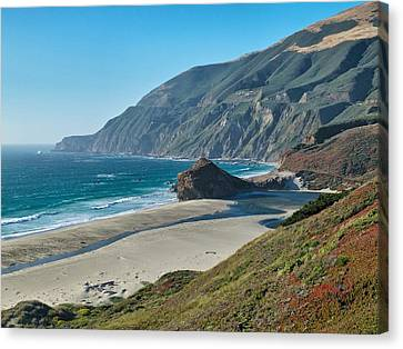 West Coast Serenity Canvas Print by Rob Wilson