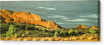West Of Moab Canvas Print by Paul Krapf