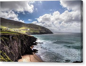 Western Coast Of Ireland Canvas Print by Juergen Klust