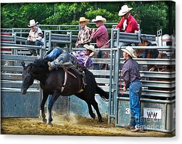 Western Cowboy Canvas Print by Gary Keesler