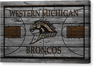 Western Michigan Broncos Canvas Print by Joe Hamilton