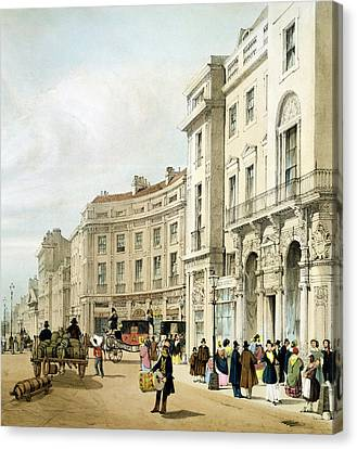 Western Side Of John Nashs Extended Canvas Print by Thomas Shotter Boys
