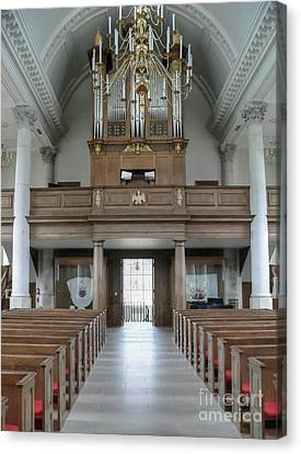 Westminster College Chapel Canvas Print by David Bearden