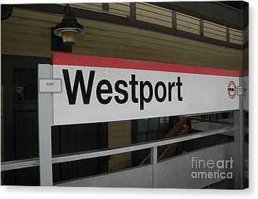 Westport Canvas Print by Bruce Borner