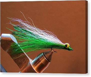 Wet Fly 001 Canvas Print by Phil Rispin