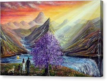What Dreams May Come Canvas Print by Ann Marie Bone