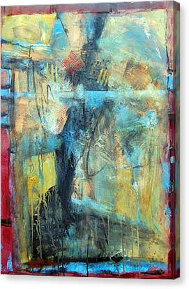 What Lies Beneath Canvas Print by Ron Stephens