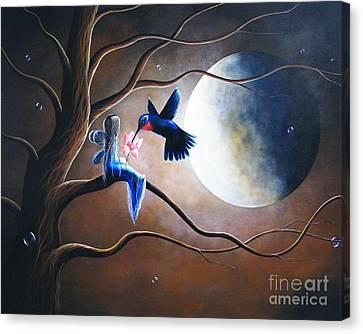 What Love Looks Like By Shawna Erback Canvas Print by Shawna Erback