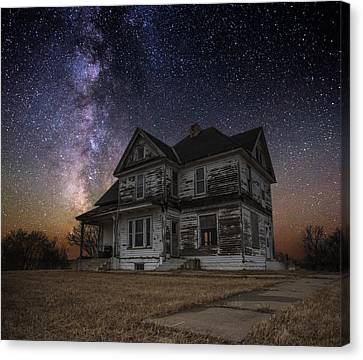 What Once Was Canvas Print by Aaron J Groen