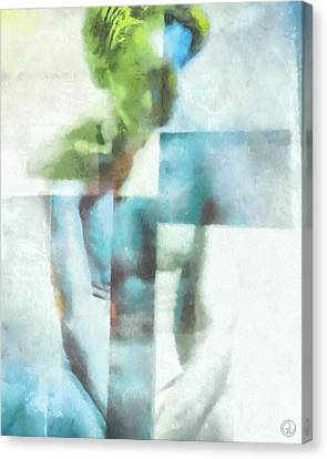 What The Painter Saw Canvas Print by Gun Legler