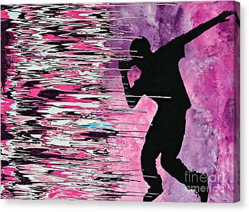 What's Hatin' Canvas Print by Cyryn Fyrcyd