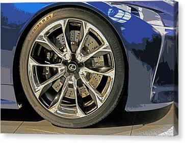 Wheel Of The Future Canvas Print by Tom Gari Gallery-Three-Photography