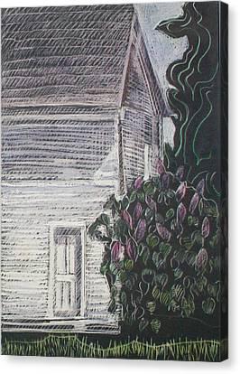 When Lilacs Last... Canvas Print by Grace Keown