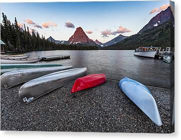 When We Row Canvas Print by Jon Glaser