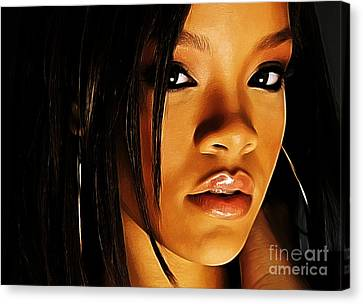 When Words Fail... Canvas Print by The DigArtisT