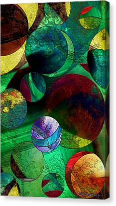 When Worlds Collide Canvas Print by RC DeWinter