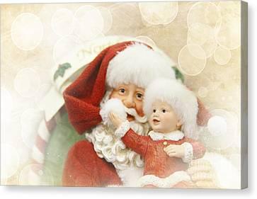 Merry Christmas Canvas Print by Sharon Mau