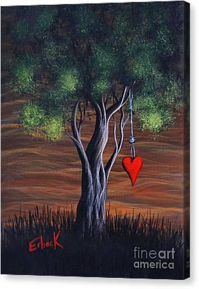 Where Love Grows By Shawna Erback Canvas Print by Shawna Erback