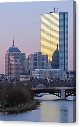 Where Old And New Meet Canvas Print by Juergen Roth