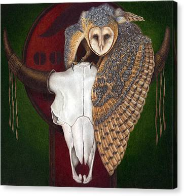 Where Once They Roamed Canvas Print by Pat Erickson