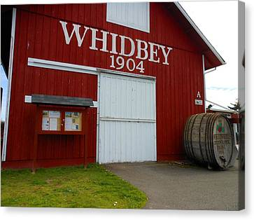 Whidbey's Greenbank Farm Canvas Print by Kay Gilley