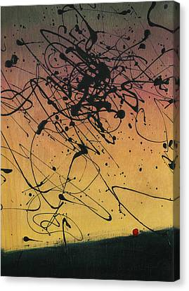 While Sisyphus Slept Canvas Print by James W Johnson