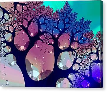 Whimsical Forest Canvas Print by Anastasiya Malakhova