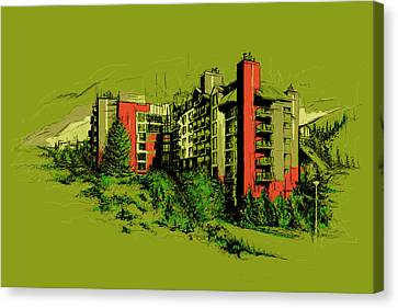 Whistler Art 003 Canvas Print by Catf