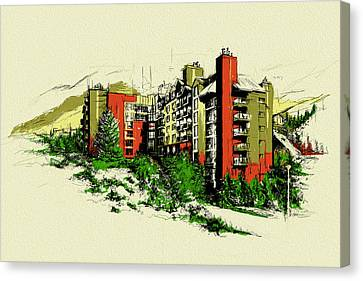 Whistler Art 004 Canvas Print by Catf
