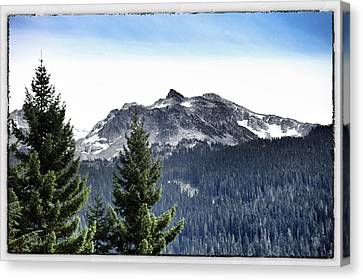 Whistler Mountain Canvas Print by Jim Nelson