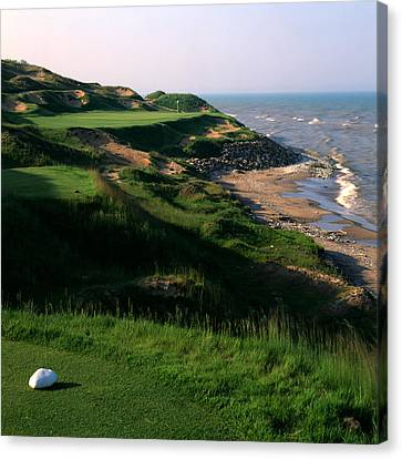 Whistling Straits 7 Canvas Print by Ken  May