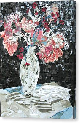 White Glove Canvas Print by Diane Fine