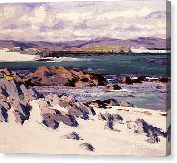 White Sands   Iona  Canvas Print by Francis Campbell Boileau Cadell