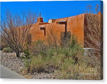 White Sands New Mexico Adobe 01 Canvas Print by Gregory Dyer
