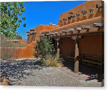 White Sands New Mexico Adobe Canvas Print by Gregory Dyer
