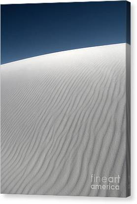 White Sands New Mexico Dune Abstraction Canvas Print by Gregory Dyer