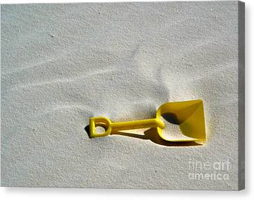 White Sands New Mexico Sand Boz Canvas Print by Gregory Dyer