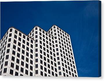 White Towers Canvas Print by Mark Weaver
