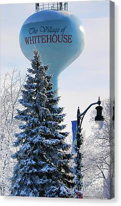 Whitehouse Water Tower  7361 Canvas Print by Jack Schultz