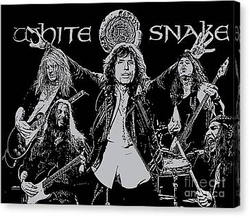 Whitesnake No.01 Canvas Print by Unknow
