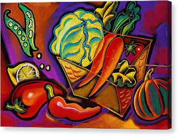Very Healthy For You Canvas Print by Leon Zernitsky