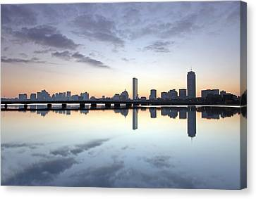 Why So Quiet Boston Canvas Print by Juergen Roth
