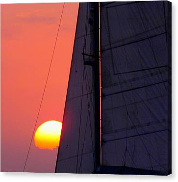 Why We Sail Canvas Print by Karen Wiles