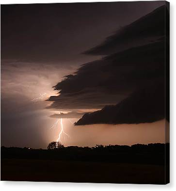 Wicked Storm Canvas Print by Christy Patino