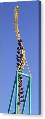 Wicked Twister Cedar Point Canvas Print by Dan Sproul
