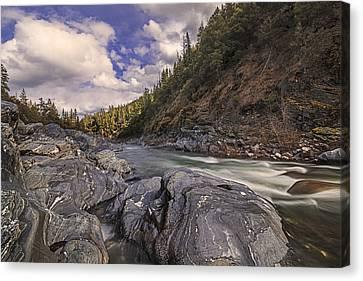 Wild And Scenic Scott River Canvas Print by Loree Johnson