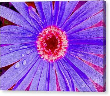 Wild Flower Close Up Canvas Print by Jon Neidert