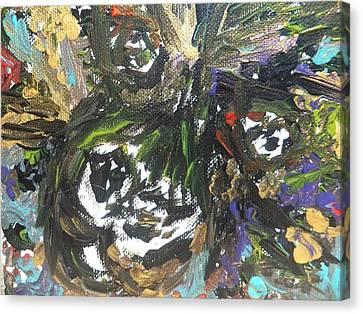 Wild Innocence Canvas Print by Amy Drago
